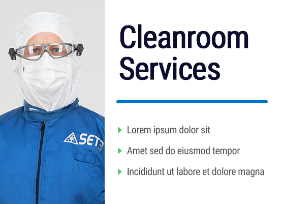 Cleanroom Services Information