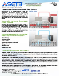 Data Center Subfloor Seal Best Practices