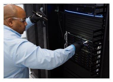 image of data center testing